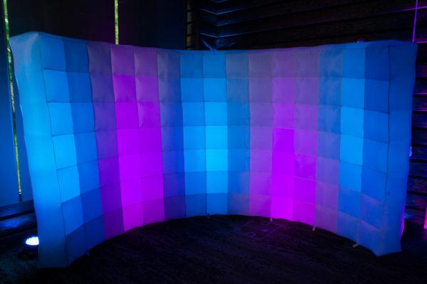 Premier multicolored backdrop