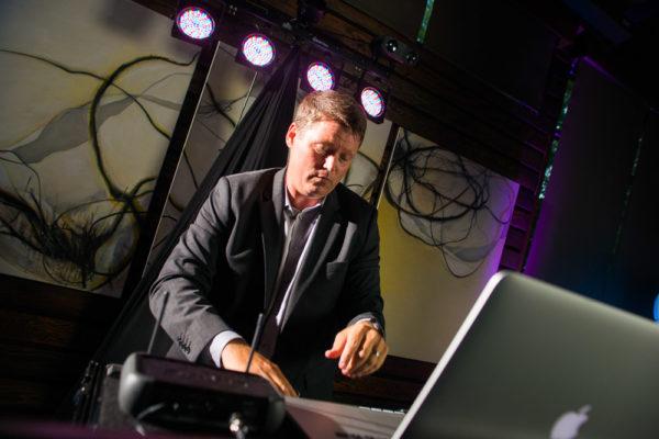 DJ Jason Middleton playing some tunes
