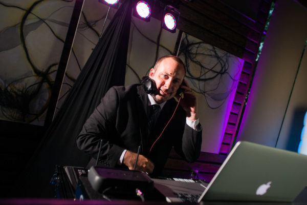 A premier DJ at work
