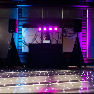 Premier dance floor setup