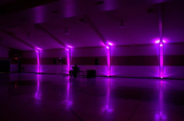 Premier, Nashville Entertainment Company — Event Lighting: Sleek fixtures